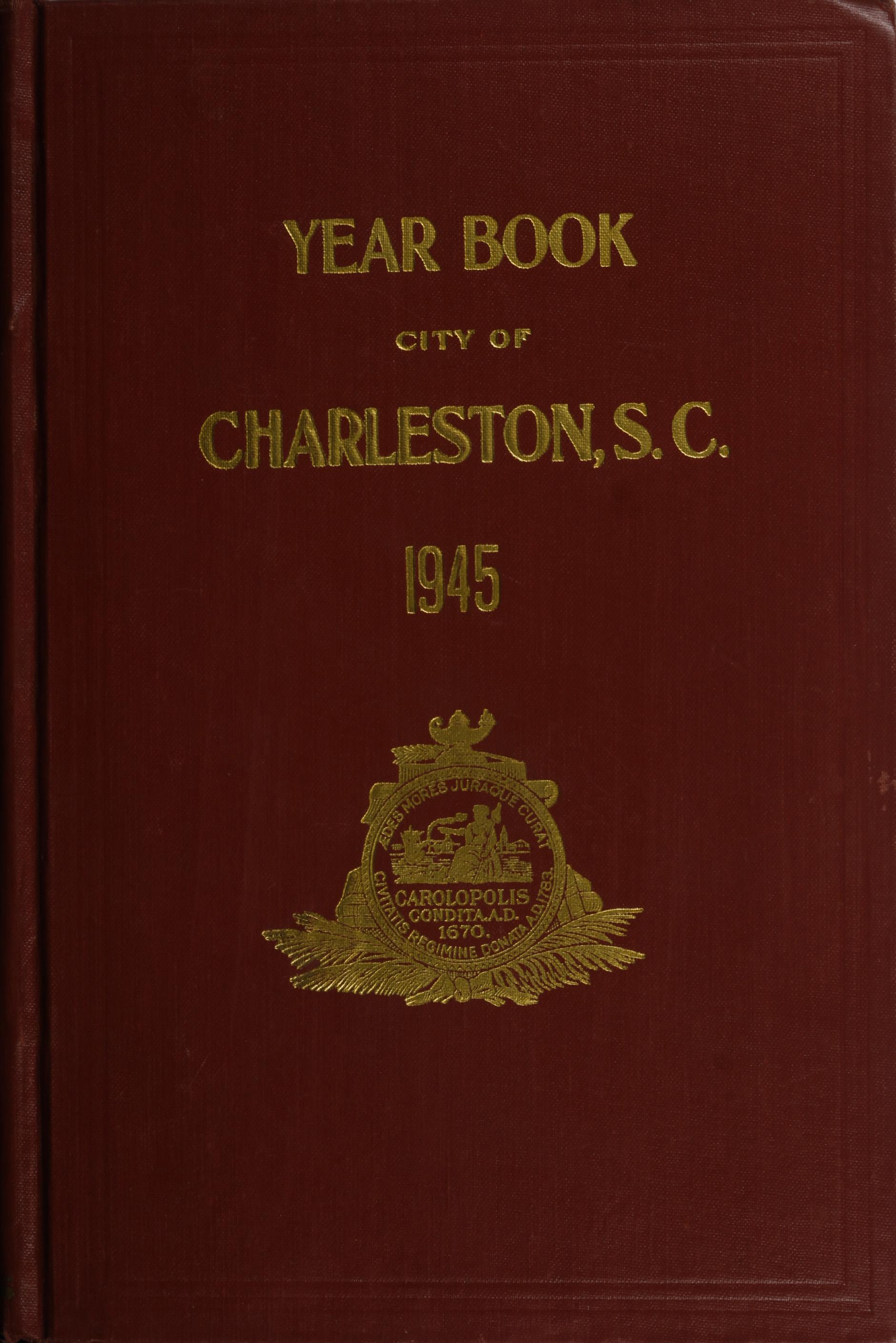 Charleston Yearbook, 1945