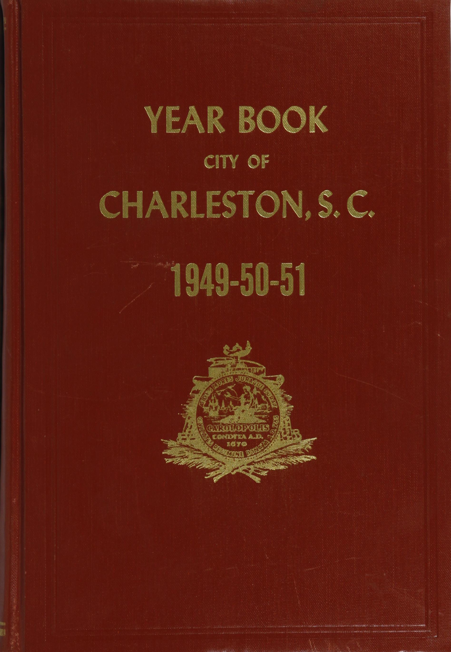 Charleston Yearbook, 1949-50-51