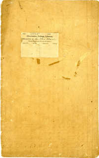 Volume 1: Daily Meteorological Observations, 1834-1844.