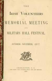 Irish Volunteers Memorial Meeting