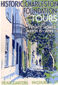 Charleston's Historic Houses, 1953:  Sixth Annual Tours Sponsored by Historic Charleston Foundation