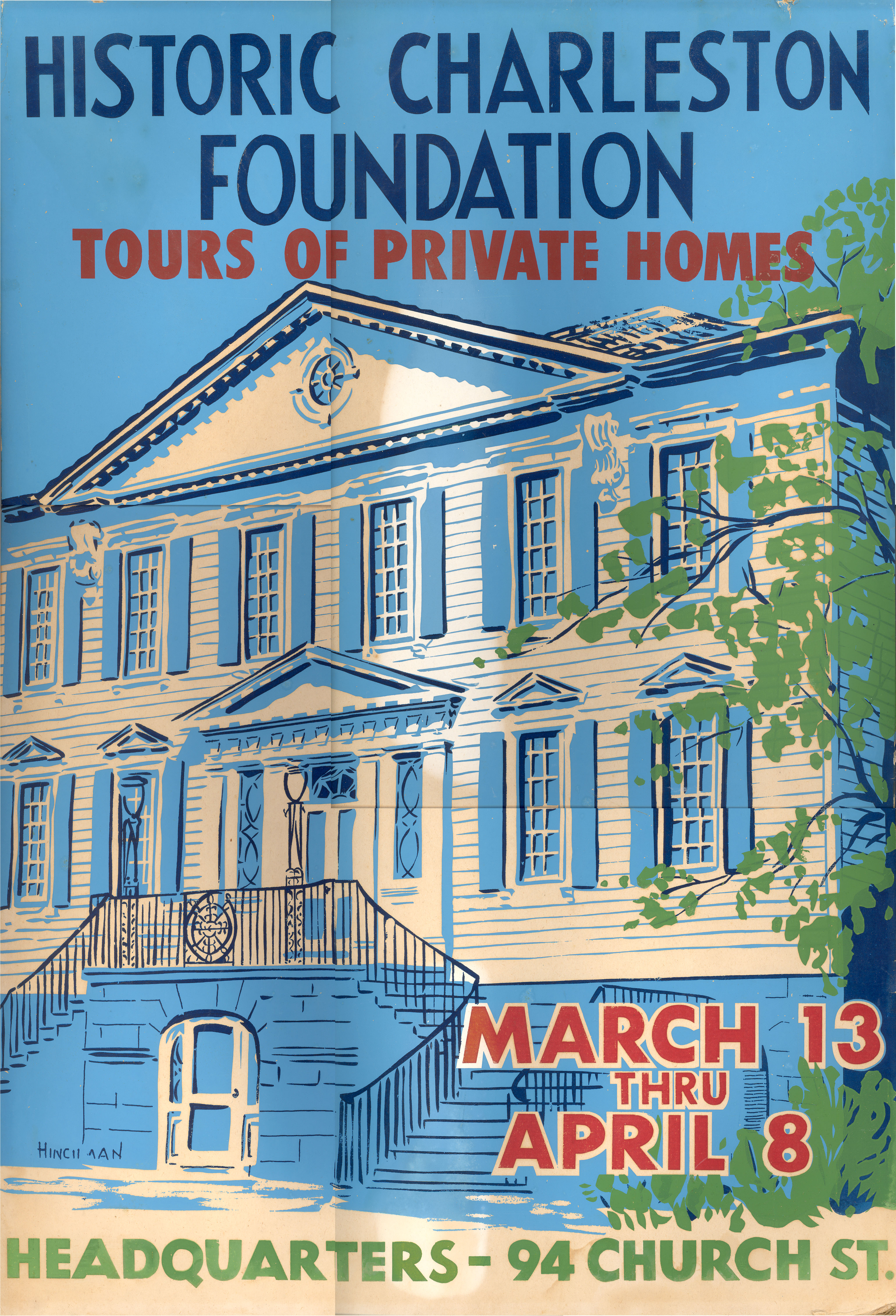 Charleston's Historic Houses, 1955:  Eighth Annual Tours Sponsored by Historic Charleston Foundation