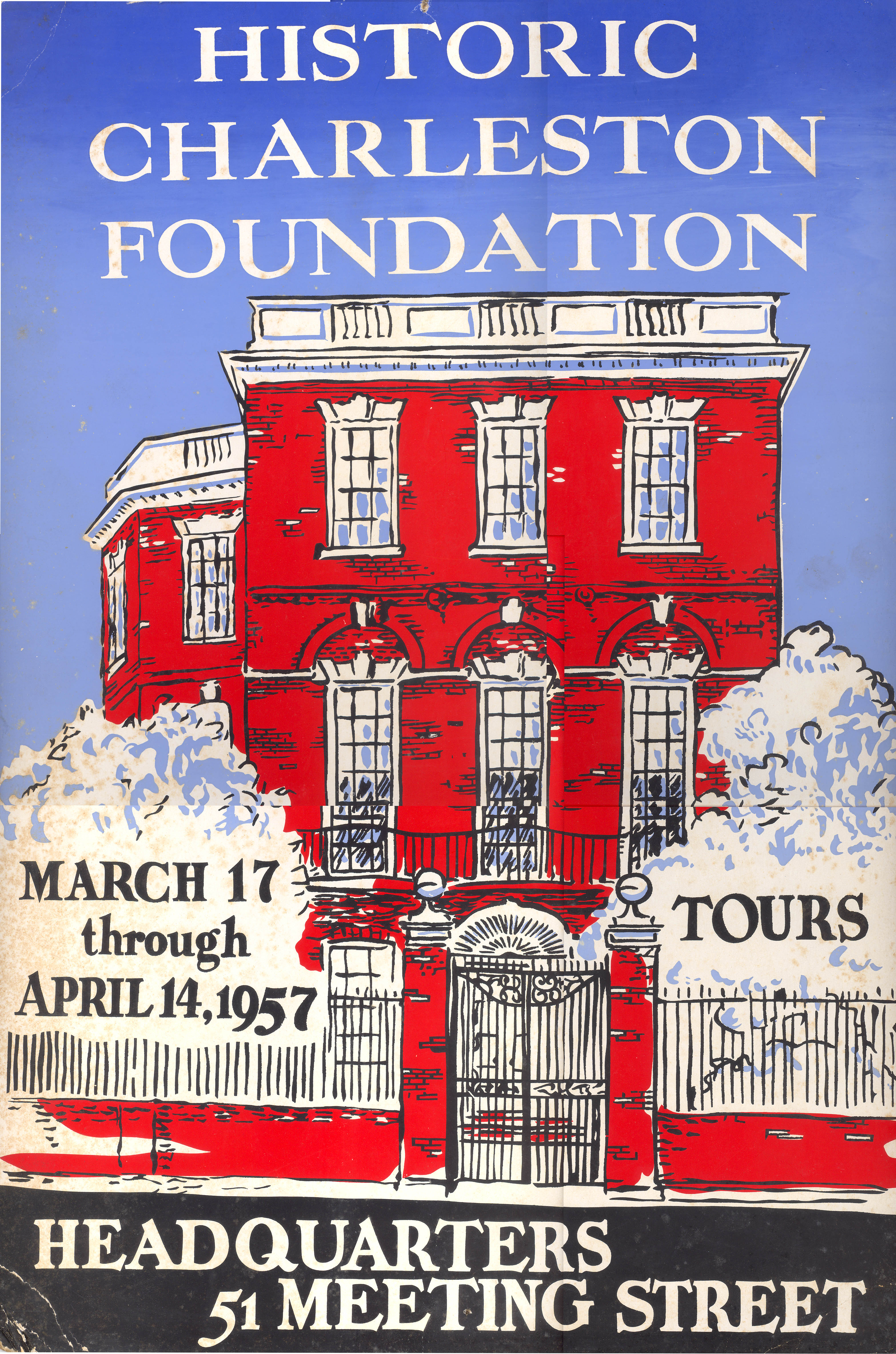 Charleston's Historic Houses, 1957:  Tenth Annual Tours Sponsored by Historic Charleston Foundation