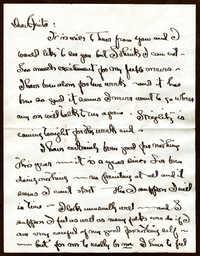 Letter from Georgia O'Keefe to Anita Pollitzer