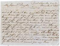 George Bright to James S. Drayton