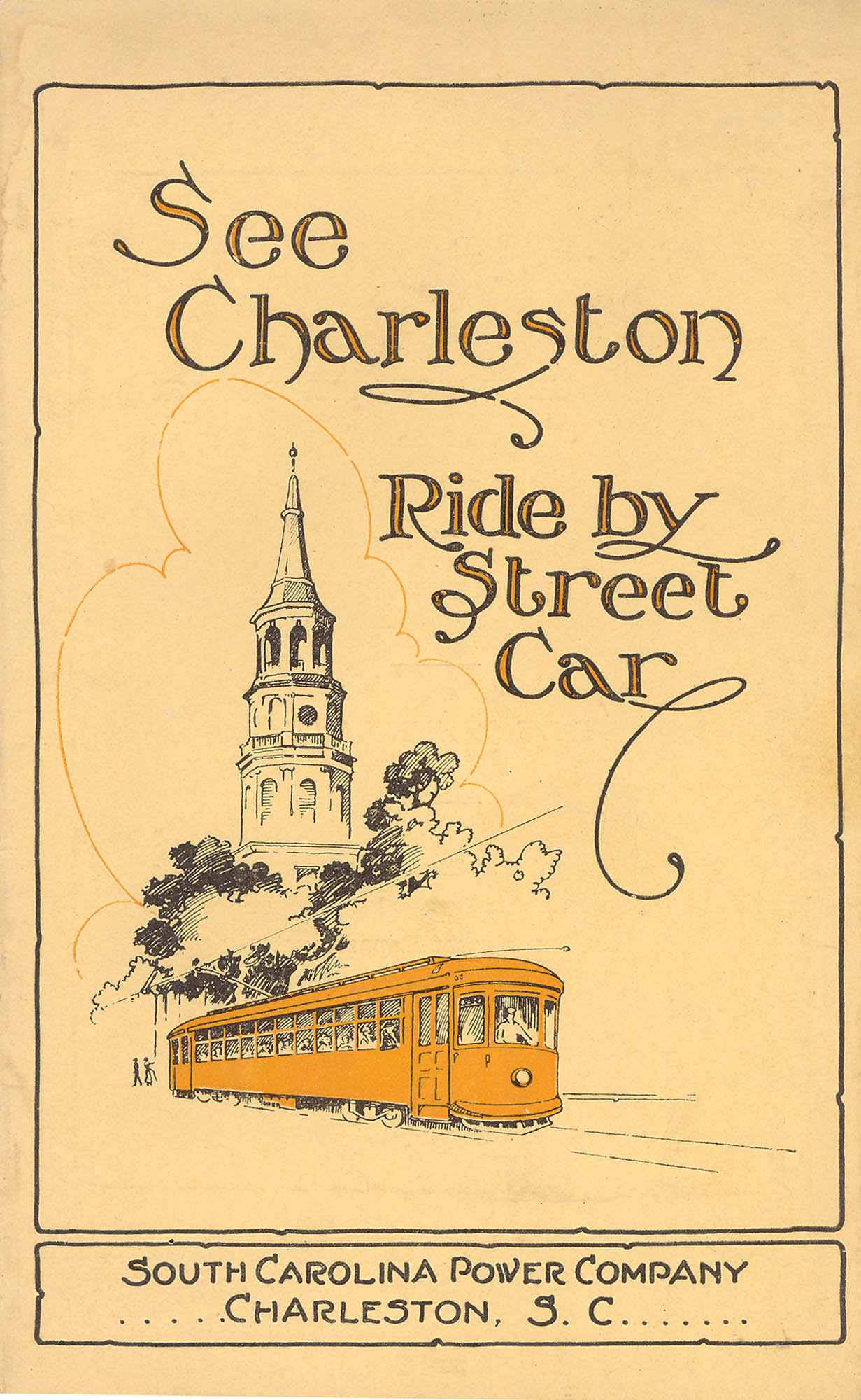 See Charleston:  Ride by Street Car