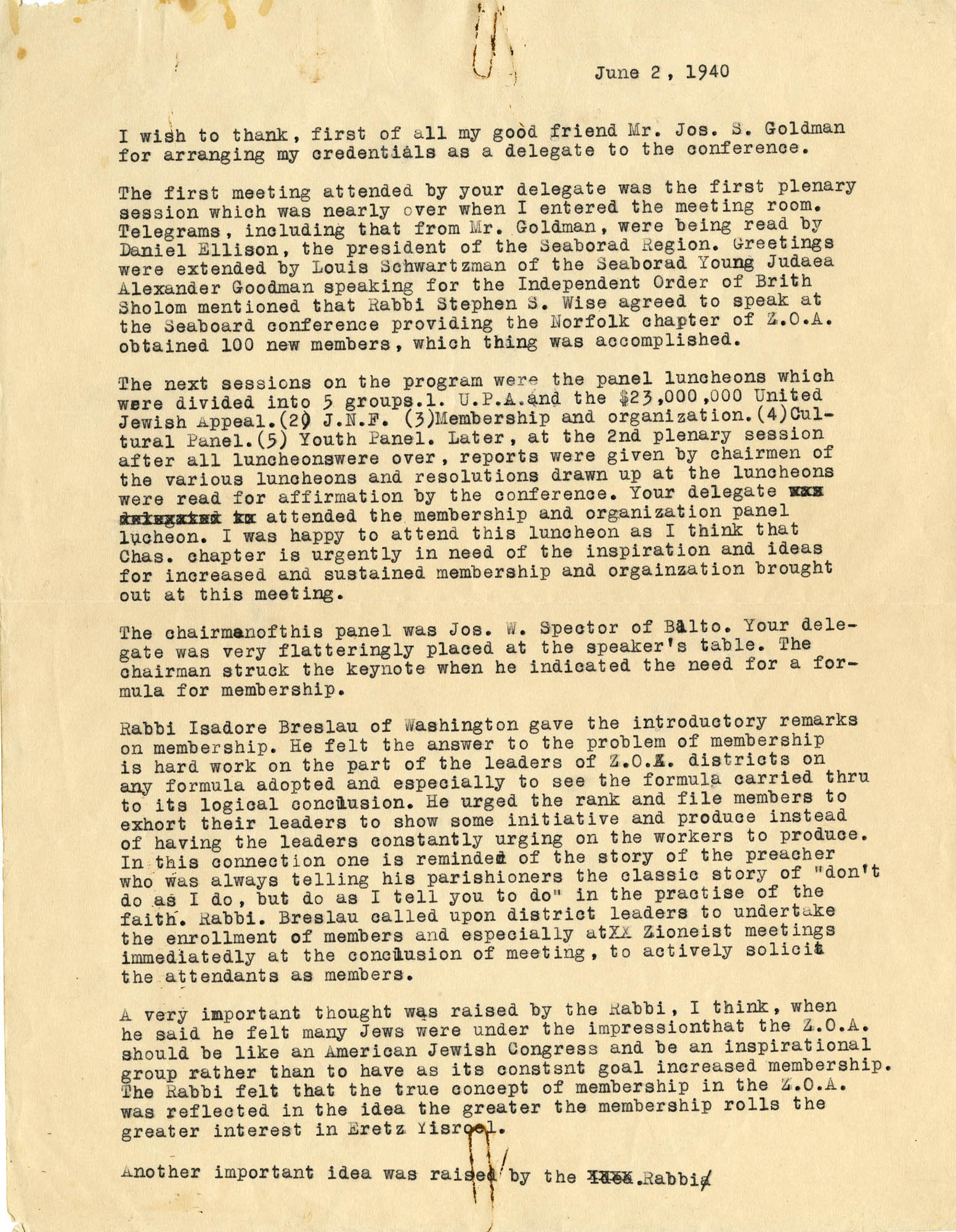 04. June 2, 1940 Convention Review