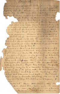 J. F. R. Papers, 1849-1855