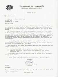 Honorary Degree - Awarded Founder's Day 1977