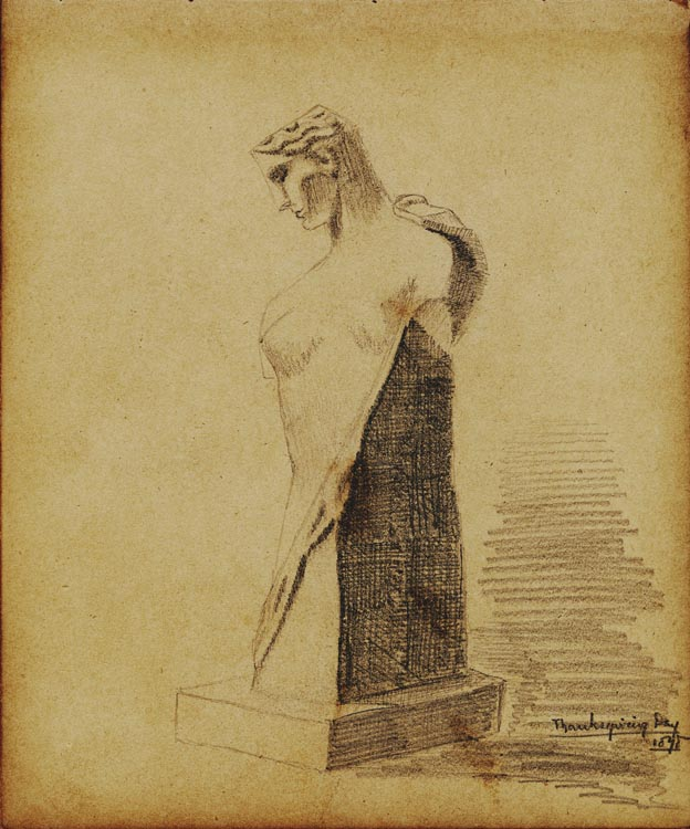 William Martin Aiken Sketchbook, 1878-1879