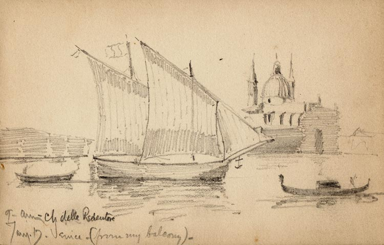 William Martin Aiken Sketchbook, 1889