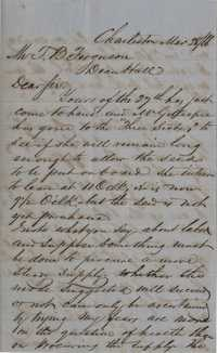 280. William McBurney to Thomas B. Ferguson -- March 28, 1866