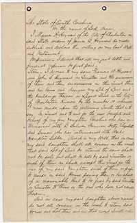 352. Last Will and Testament of Maria H. Heyward -- November 14,1890