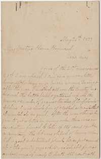 356. Sue M. Monroe to Mattie Hayne Heyward -- May 26, 1899