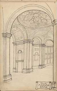 Albert Simons Sketchbook, 1912-1915