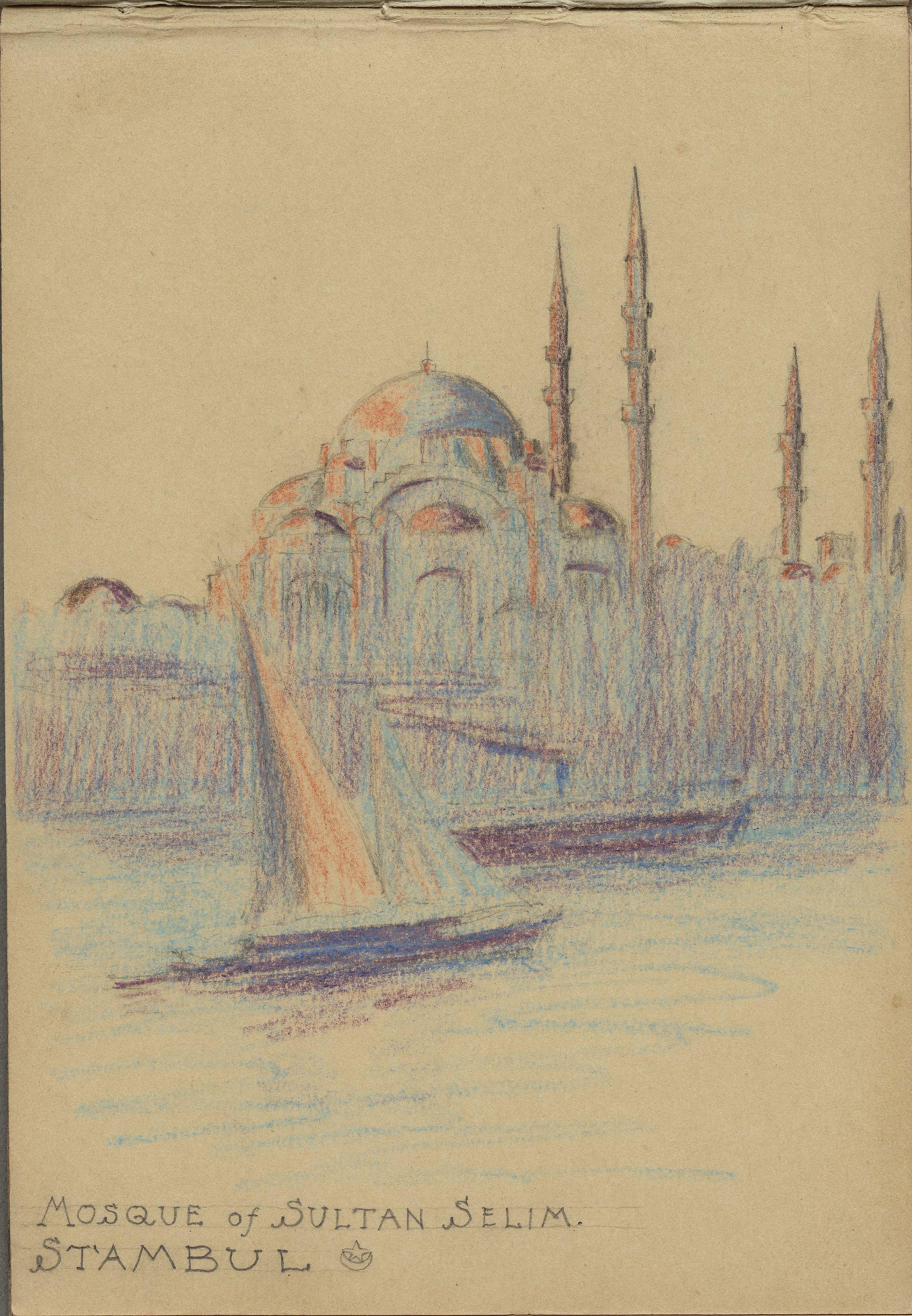 Albert Simons Sketchbook, 1912-1916