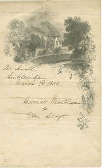 Letter to William Craft from Harriet Martineau