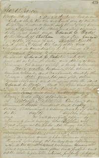Woodville Plantation Deed 1863