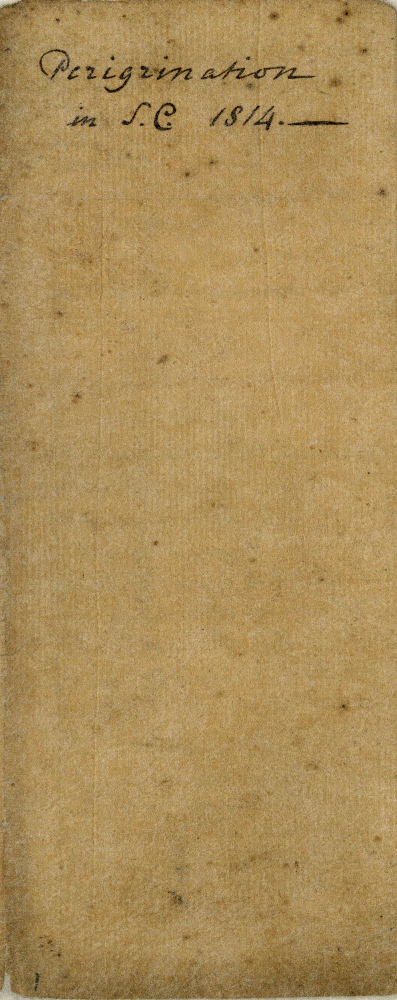 Diary of Charles Drayton, 1814