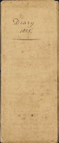 Diary of Charles Drayton, 1815