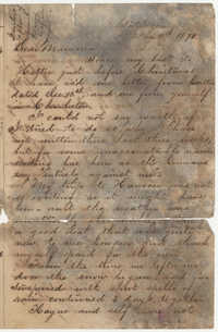 524.  Joseph Walker Barnwell to Catherine Osborn Barnwell -- January 11, 1870