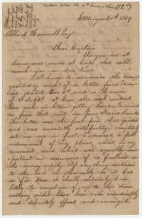526.  Joseph Walker Barnwell to Allard Belin Barnwell -- 1869