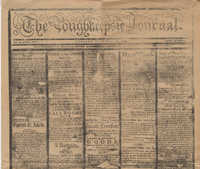 609.  Reproduction of 1799 Poughkeepsie Journal