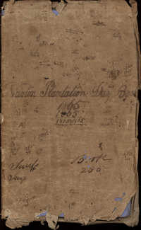 Newton Plantation Day Book 1865