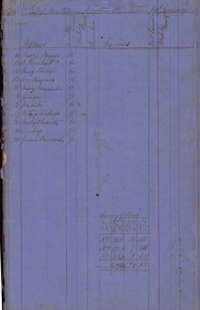 Newton Plantation Rent Book 1868