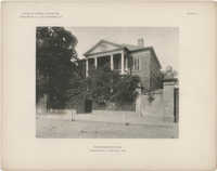 Examples of Colonial Architecture in Charleston, S.C., and Savannah, Ga.