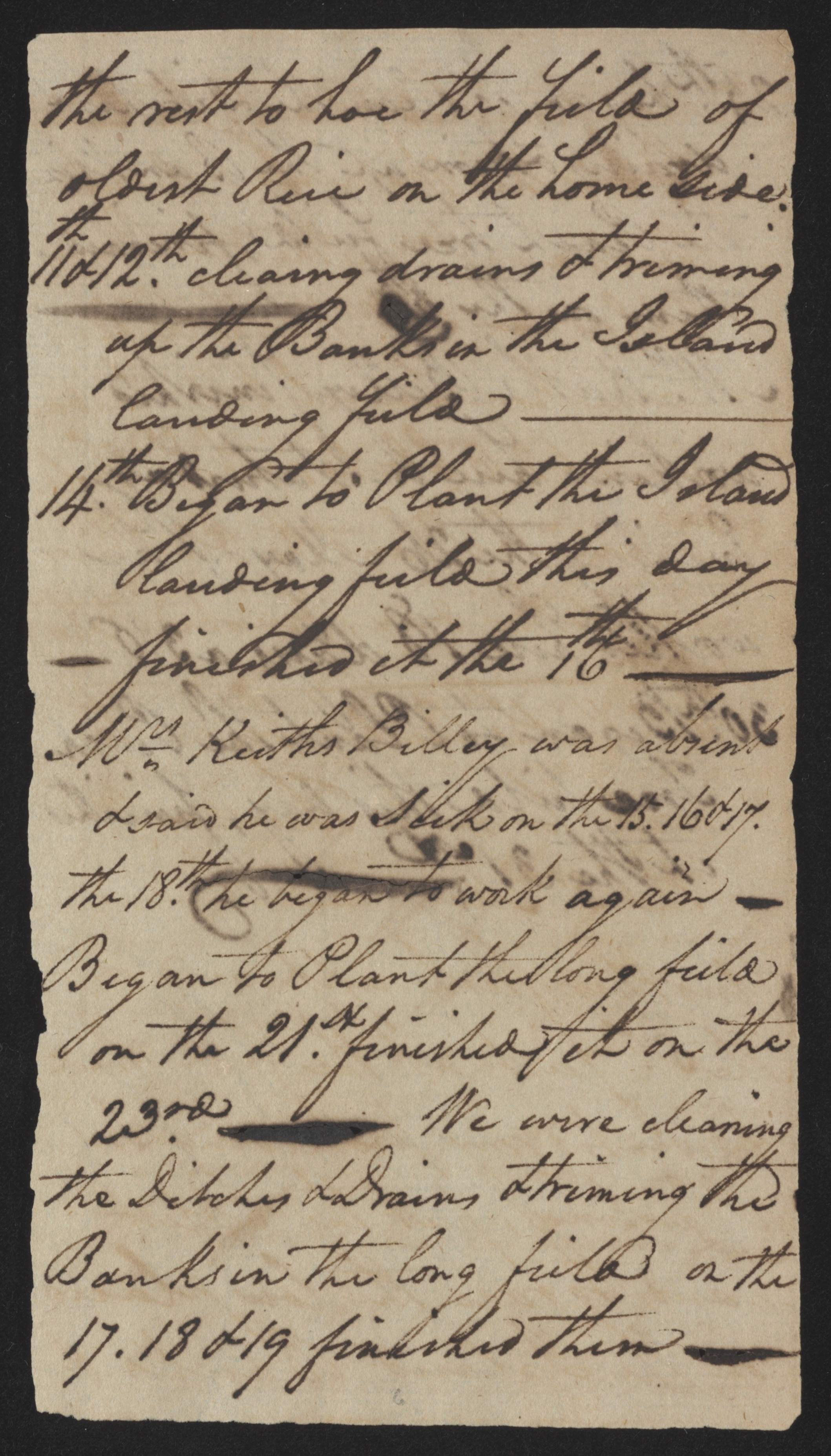 Sandy Island Plantation Journal, Volume 1, 1792, Page 10