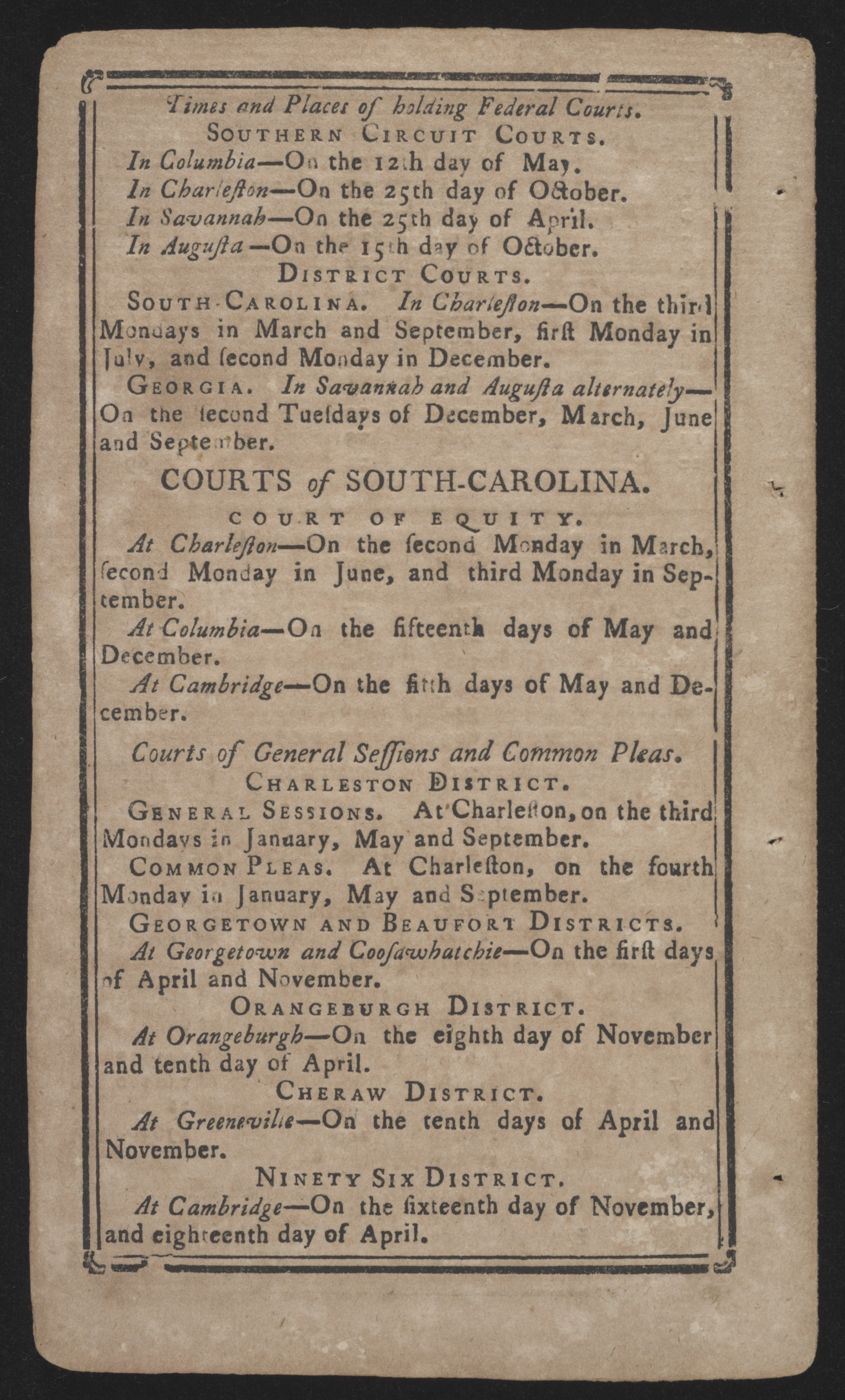 Sandy Island Plantation Journal, Volume 1, 1792, Page 43