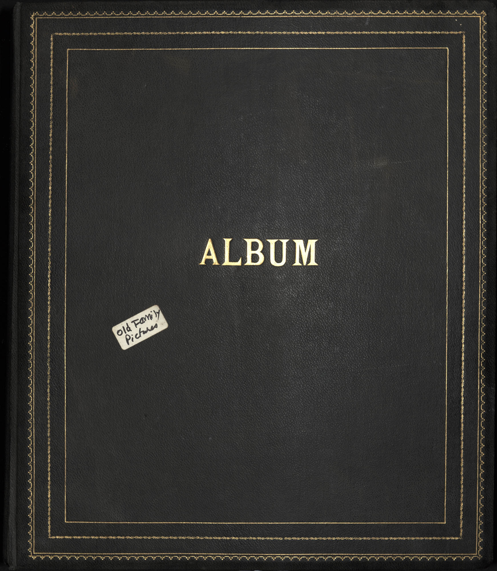 'Old Family Pictures' Photograph Album, 1900