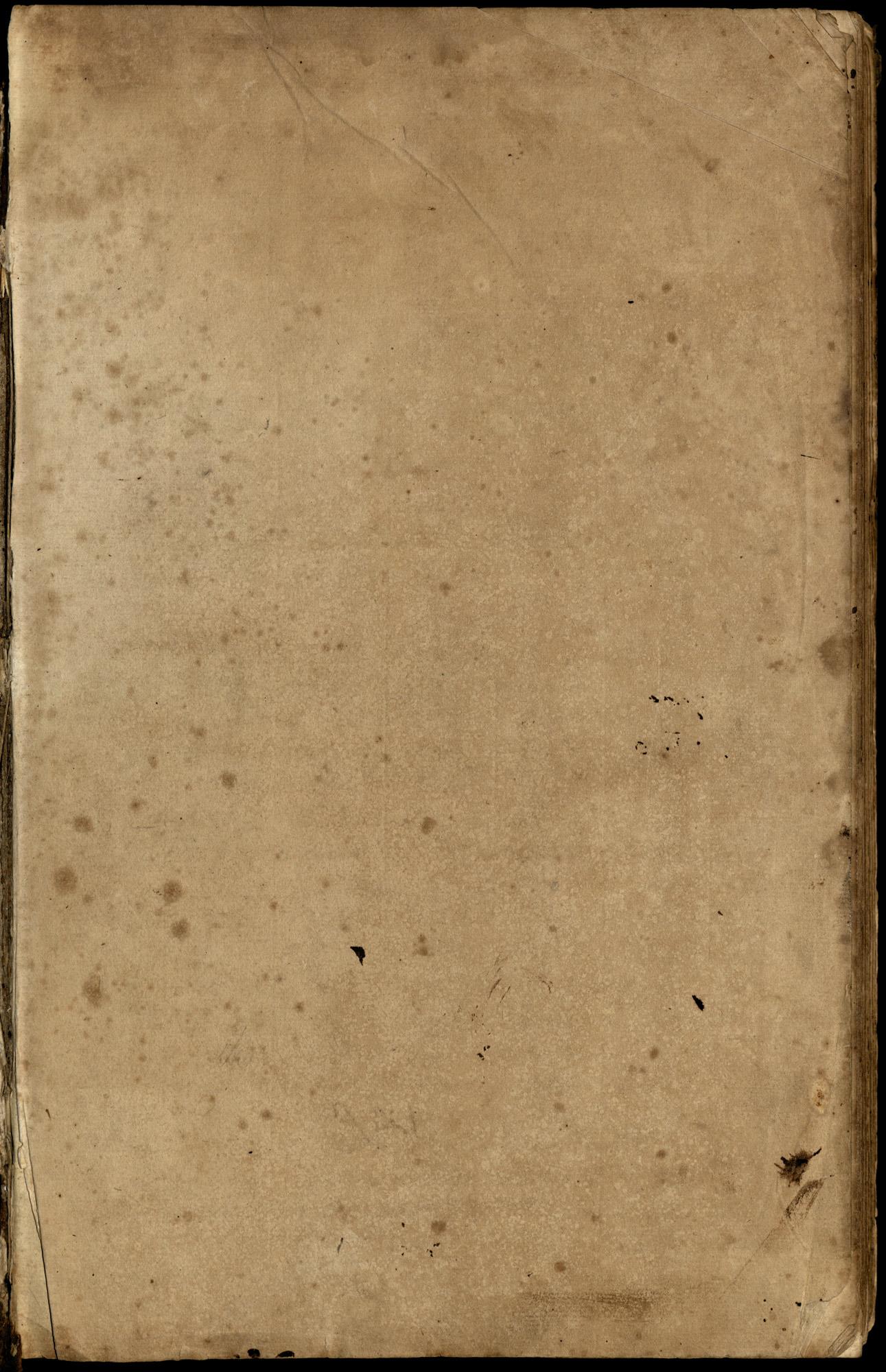 Plowden Weston's Plantation Journal,  page 1