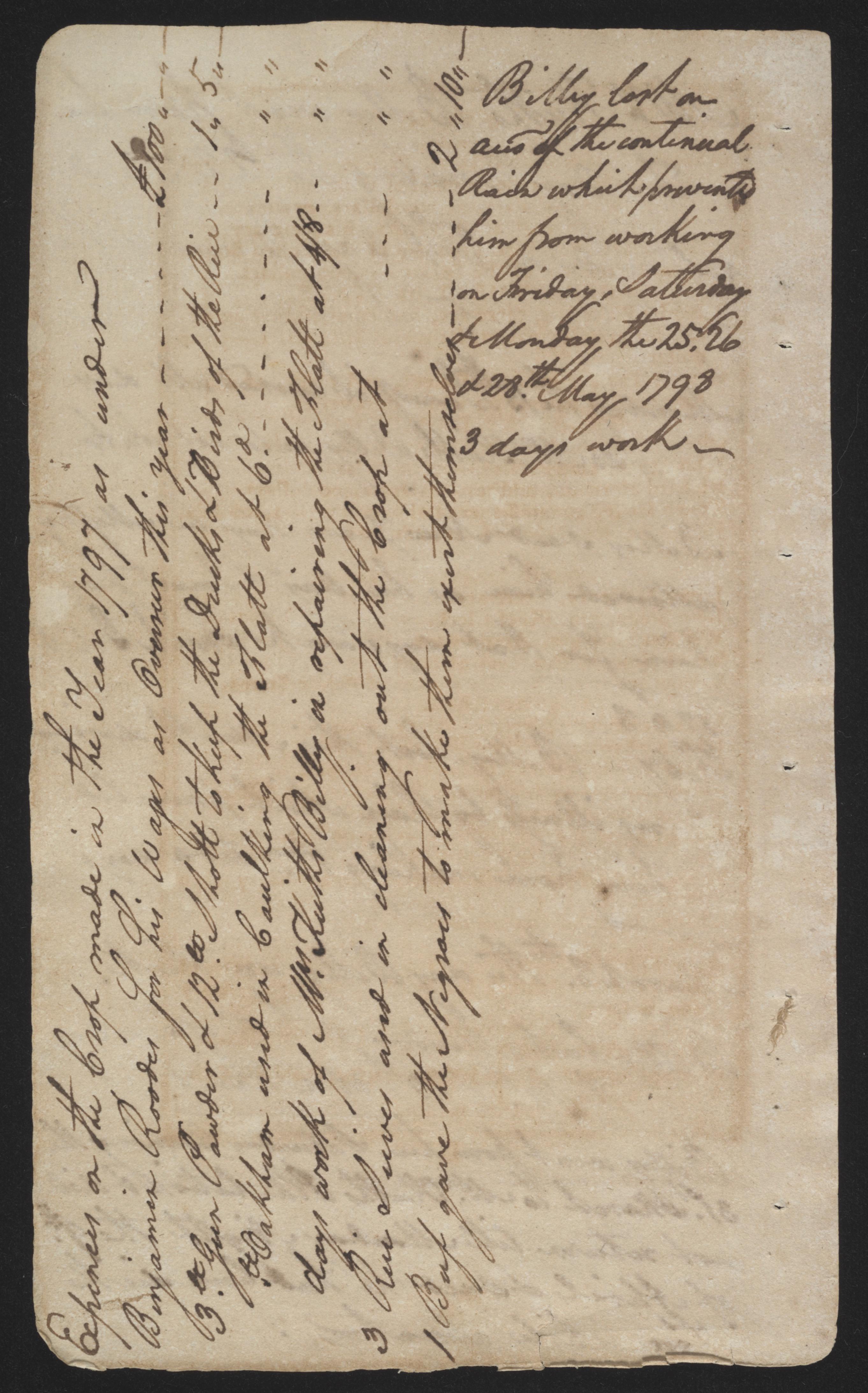 Sandy Island Plantation Journal, Volume 2, 1797, Page 29