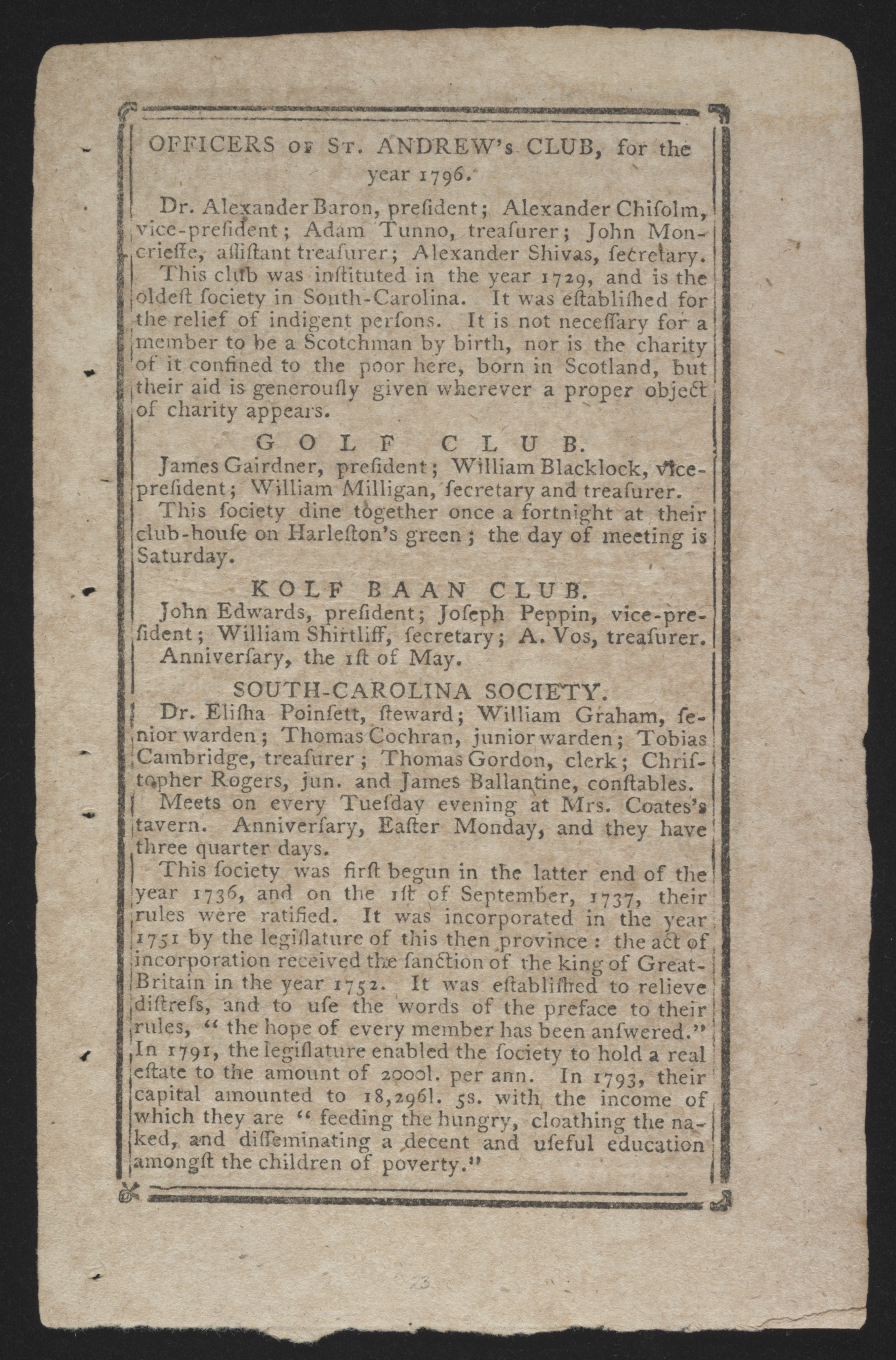 Sandy Island Plantation Journal, Volume 2, 1797, Page 44