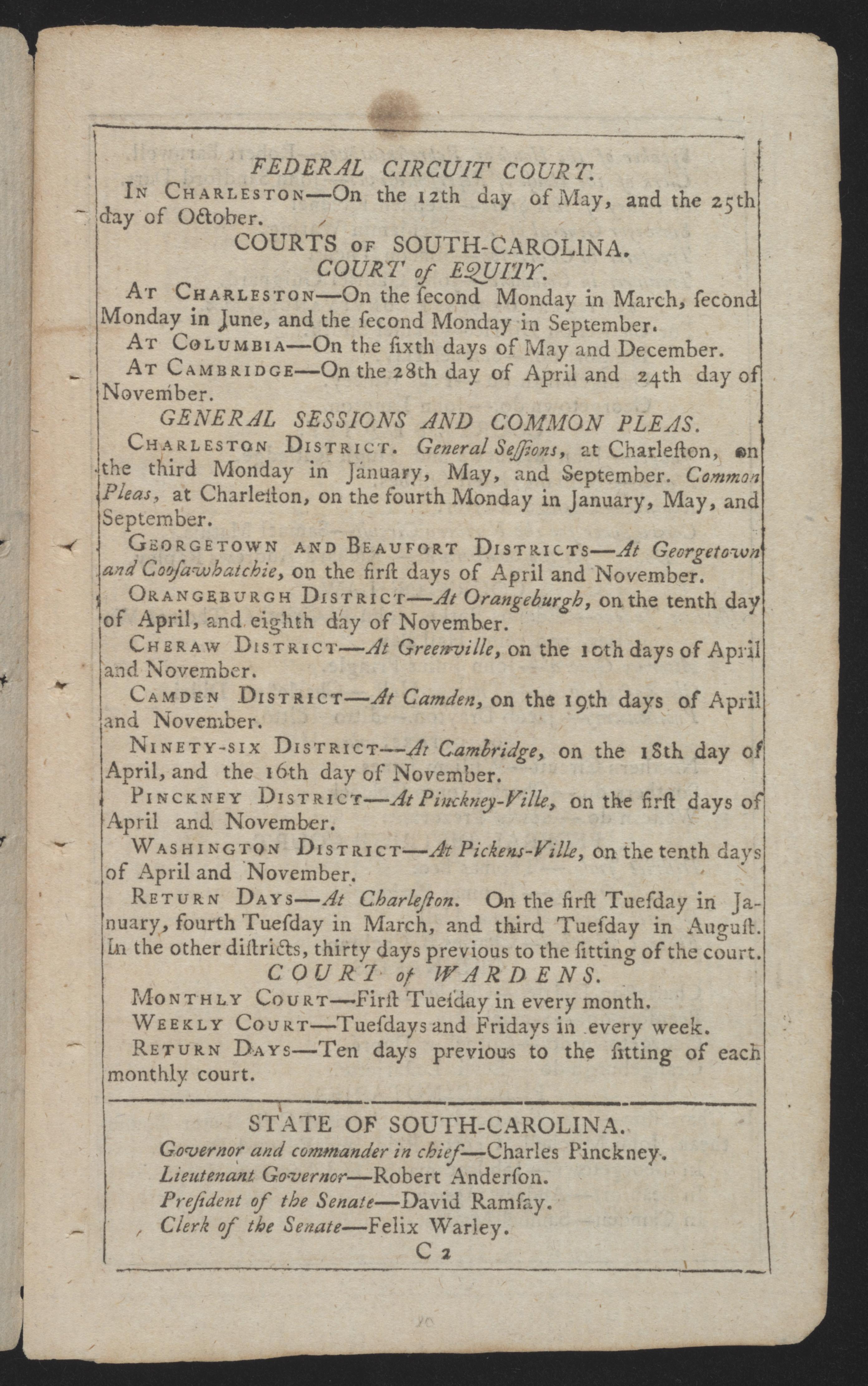 Sandy Island Plantation Journal, Volume 3, 1798, Page 40