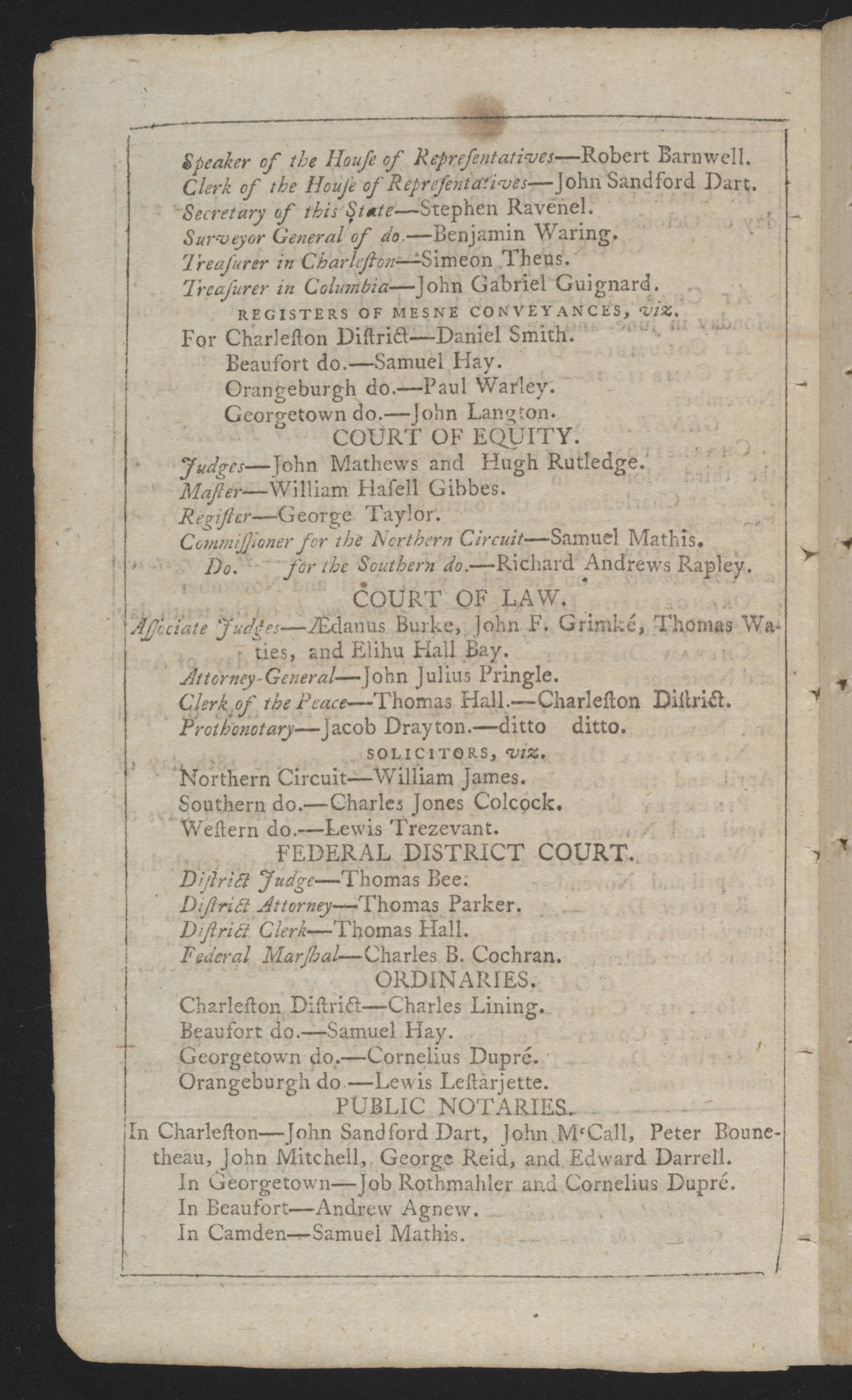 Sandy Island Plantation Journal, Volume 3, 1798, Page 41