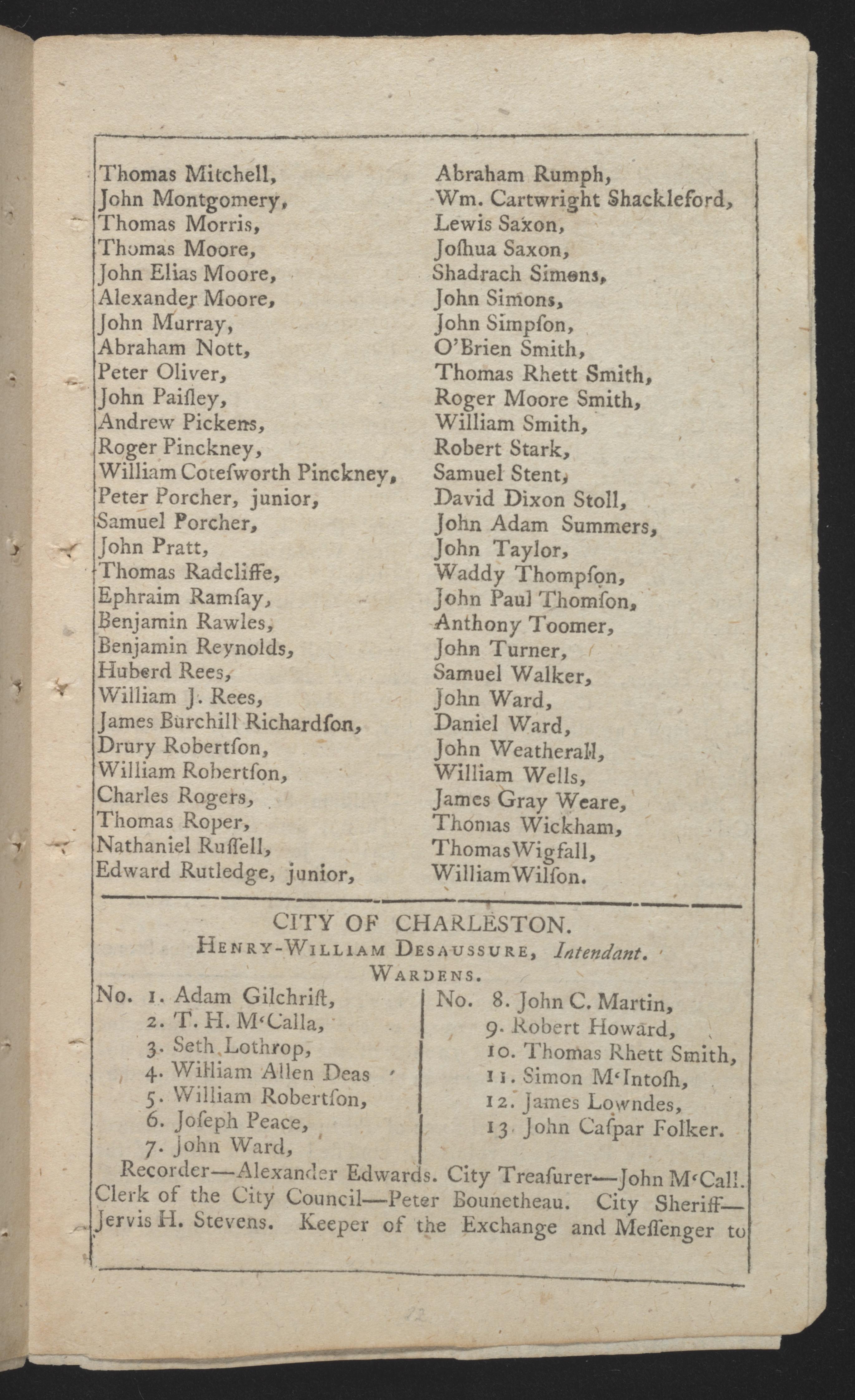 Sandy Island Plantation Journal, Volume 3, 1798, Page 44