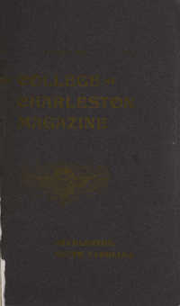 College of Charleston Magazine, 1900-1901