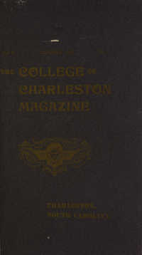 College of Charleston Magazine, 1902-1903