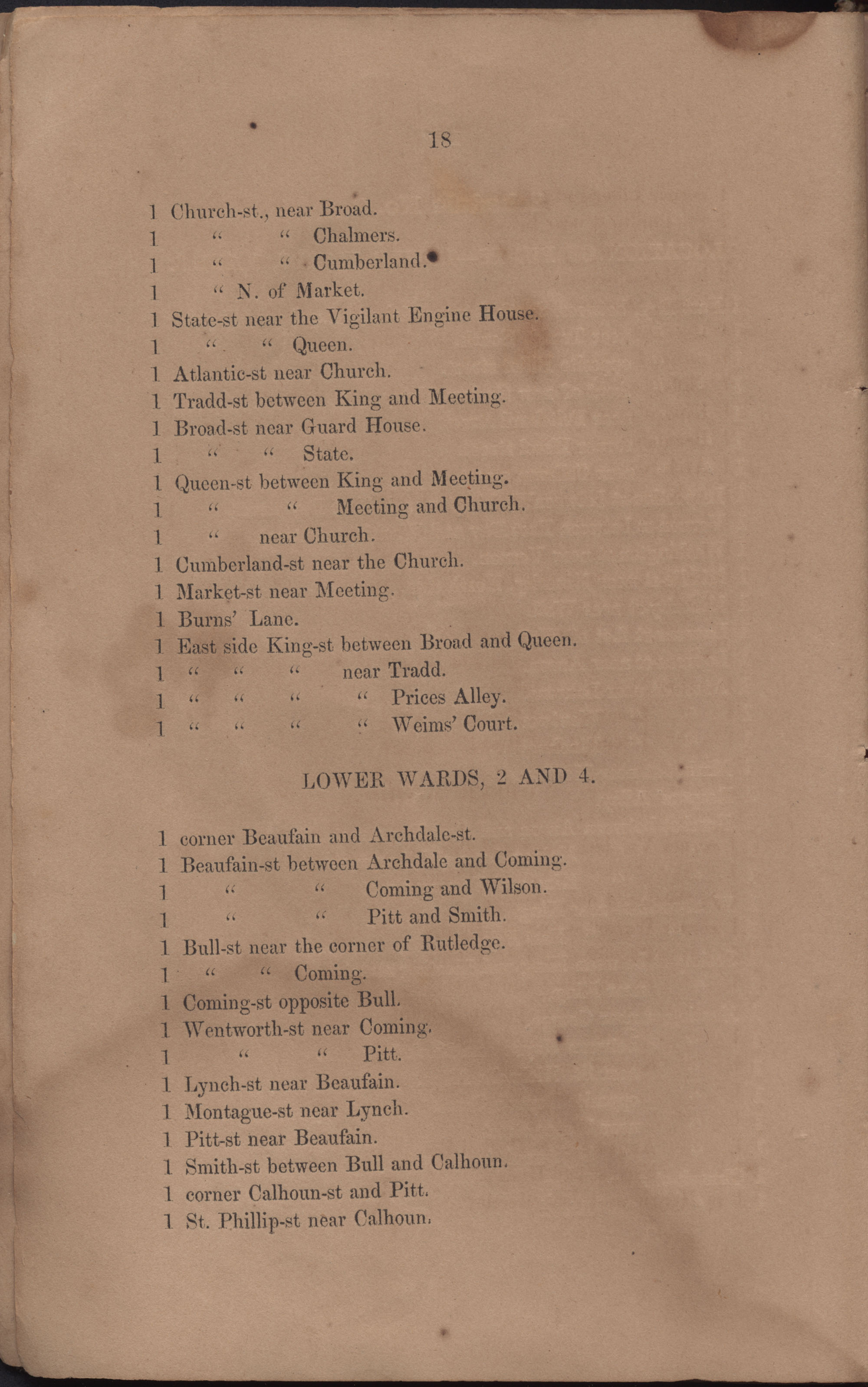Annual Report of the Chief of the Fire Department of the City of Charleston, page 16