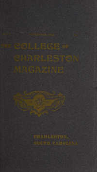 College of Charleston Magazine, 1903-1904