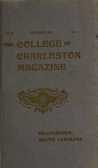College of Charleston Magazine, 1904-1905