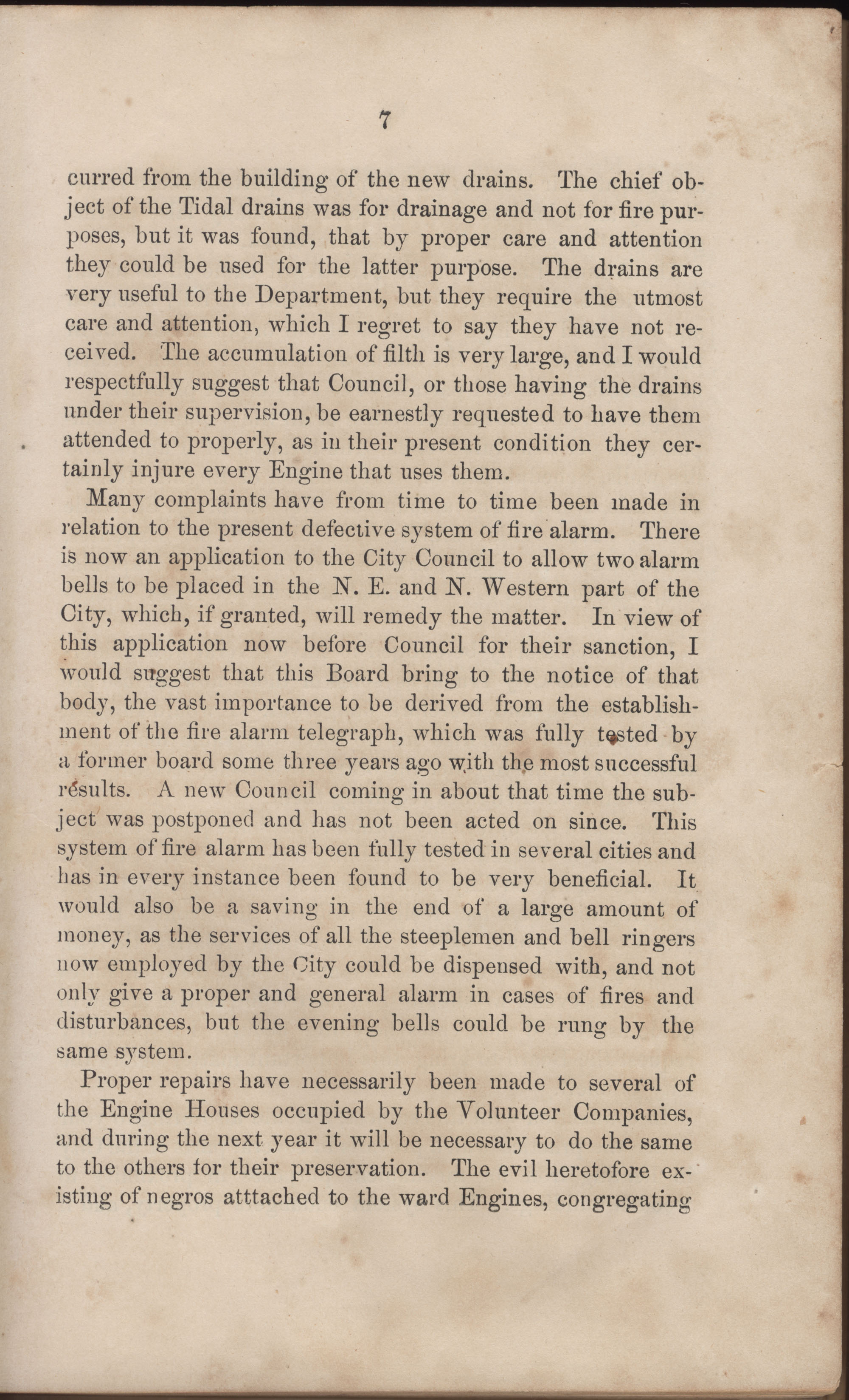 Annual Report of the Chief of the Fire Department of the City of Charleston, page 33