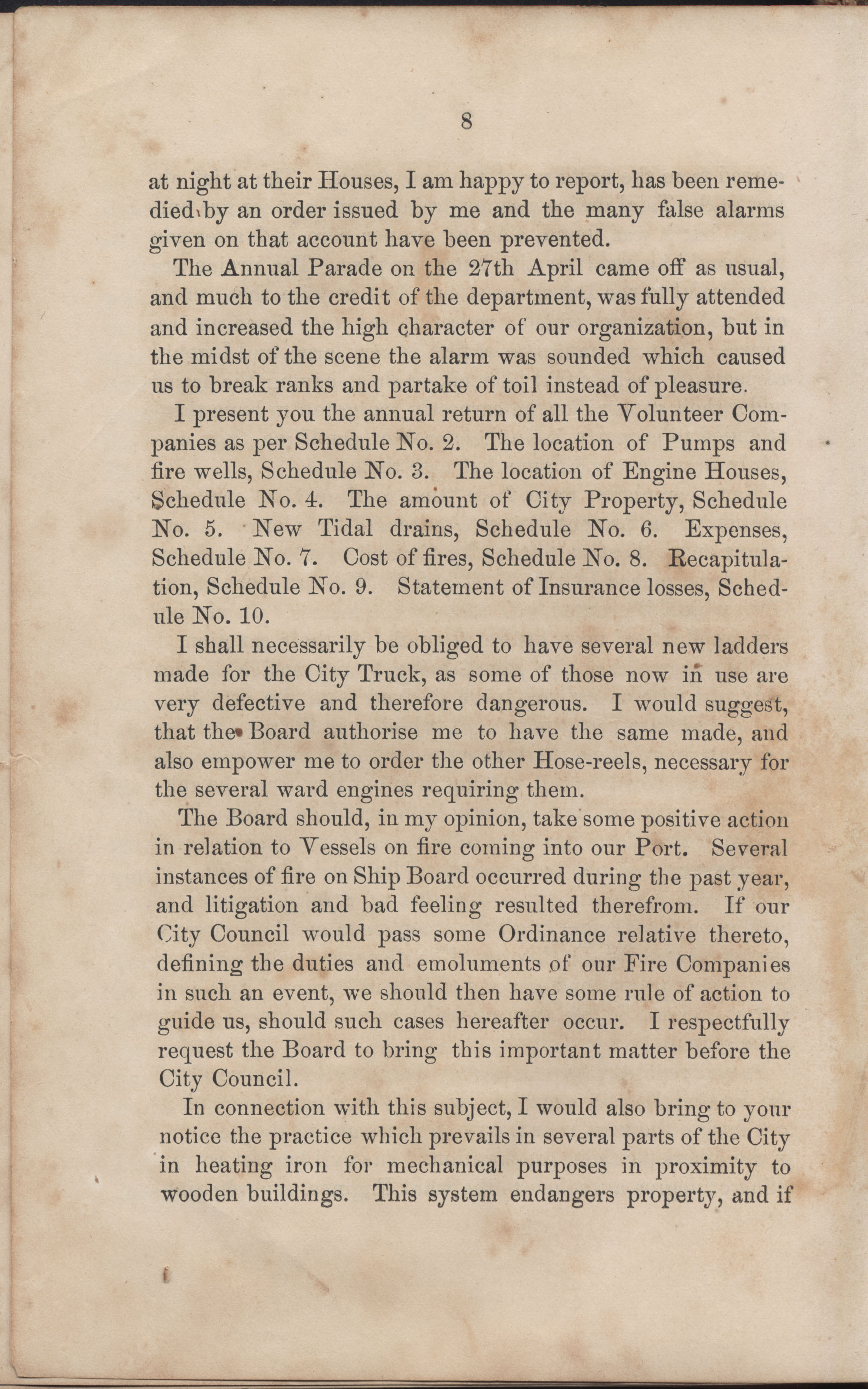 Annual Report of the Chief of the Fire Department of the City of Charleston, page 34