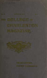 College of Charleston Magazine, 1905-1906
