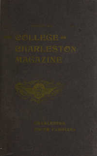 College of Charleston Magazine, 1906-1907