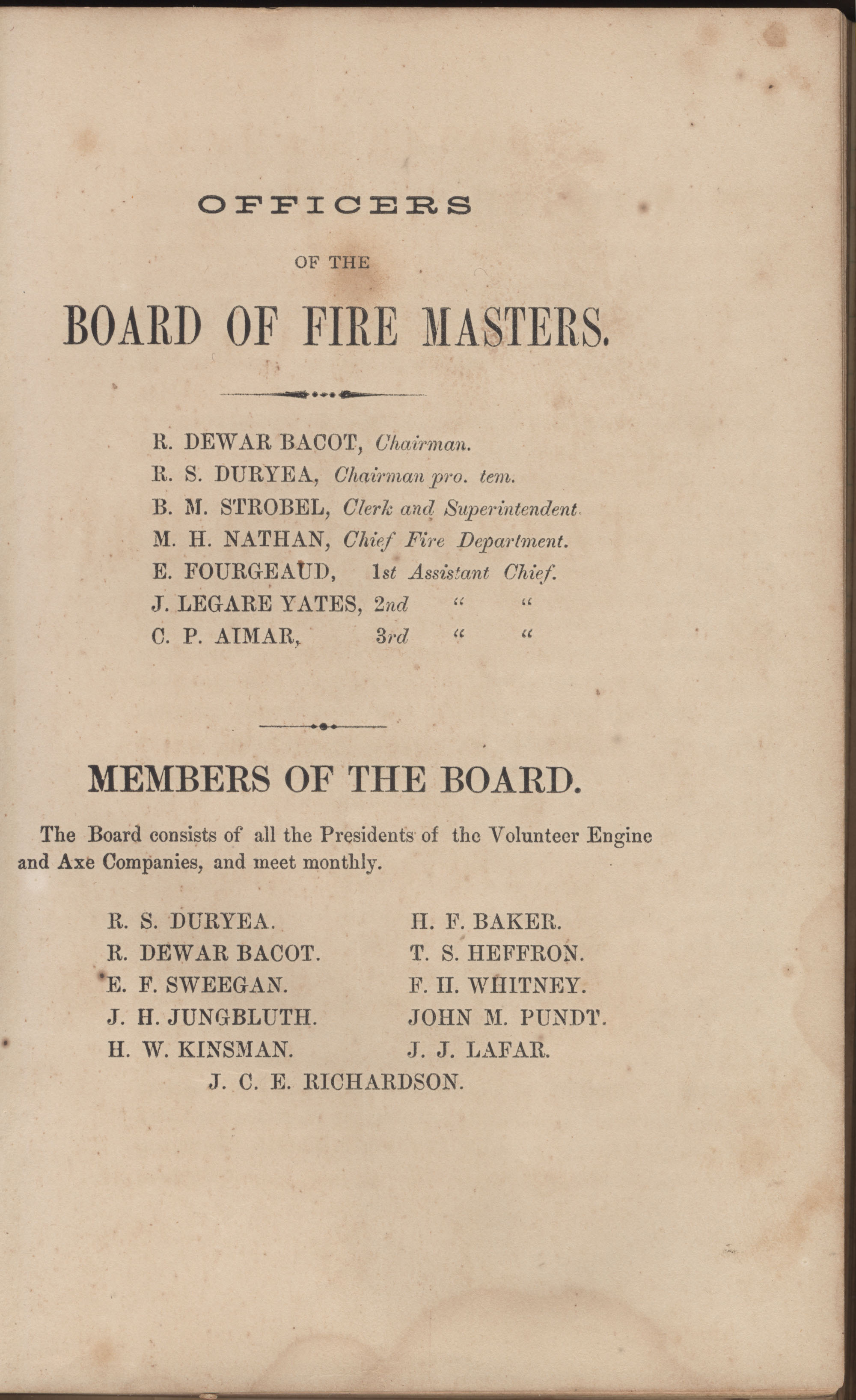 Annual Report of the Chief of the Fire Department of the City of Charleston, page 65