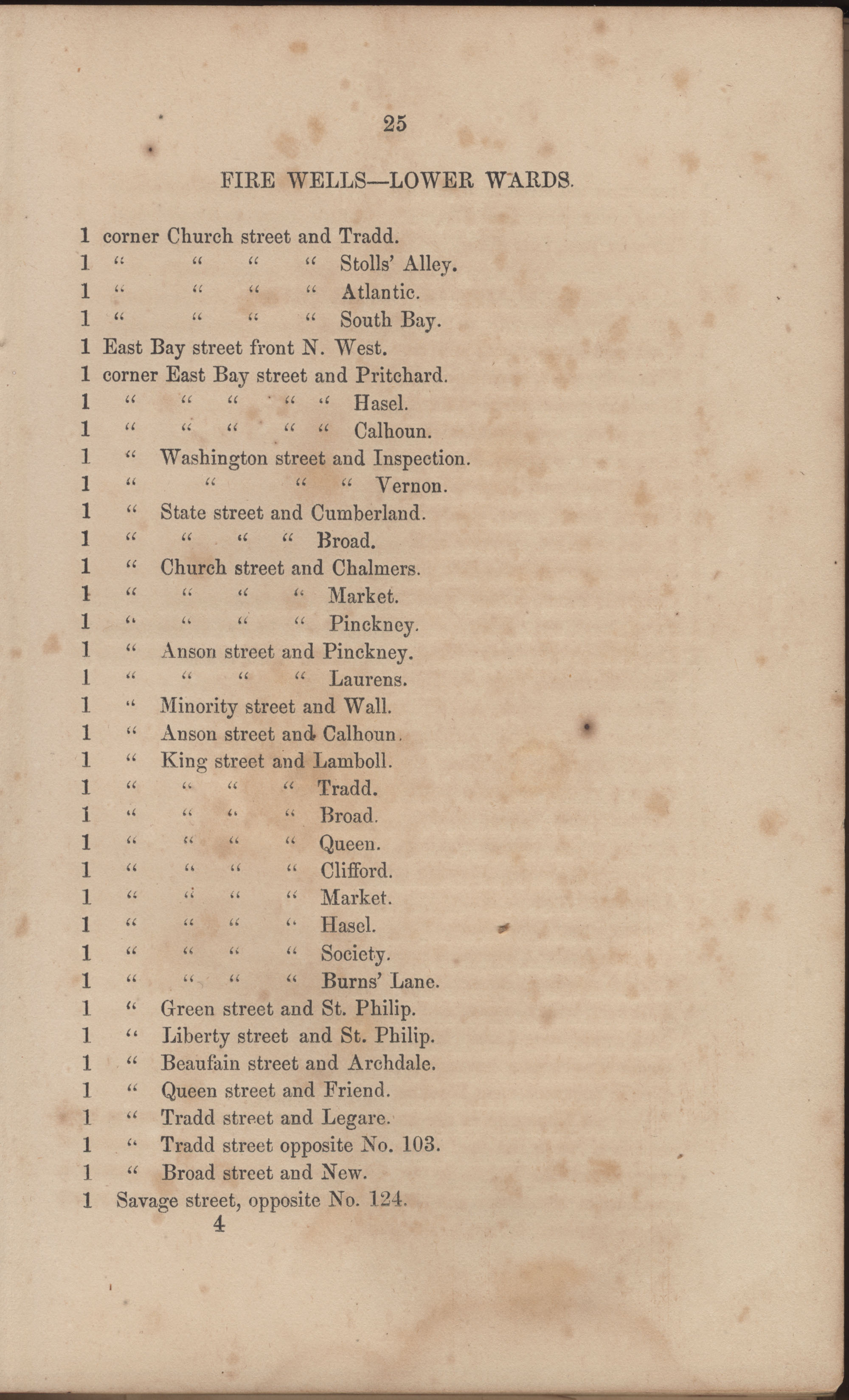 Annual Report of the Chief of the Fire Department of the City of Charleston, page 86